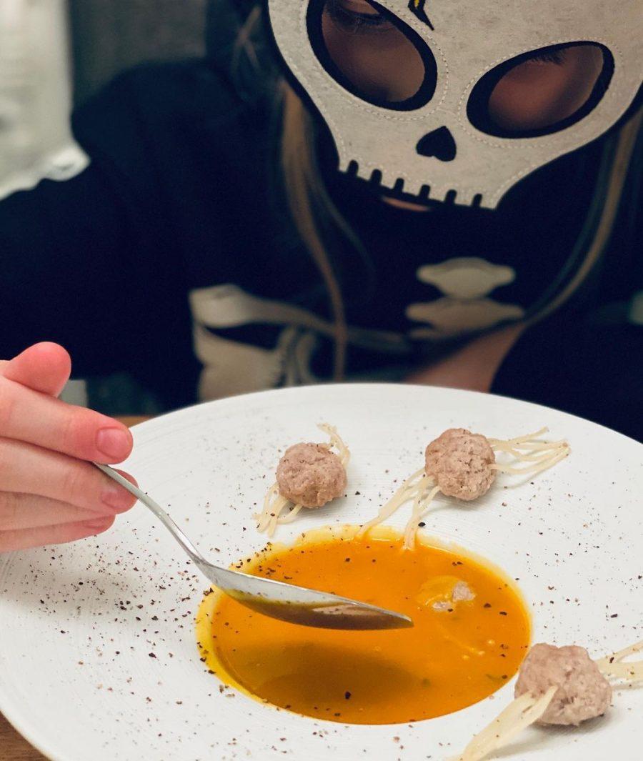 Mmmmm…. Halloweensoep