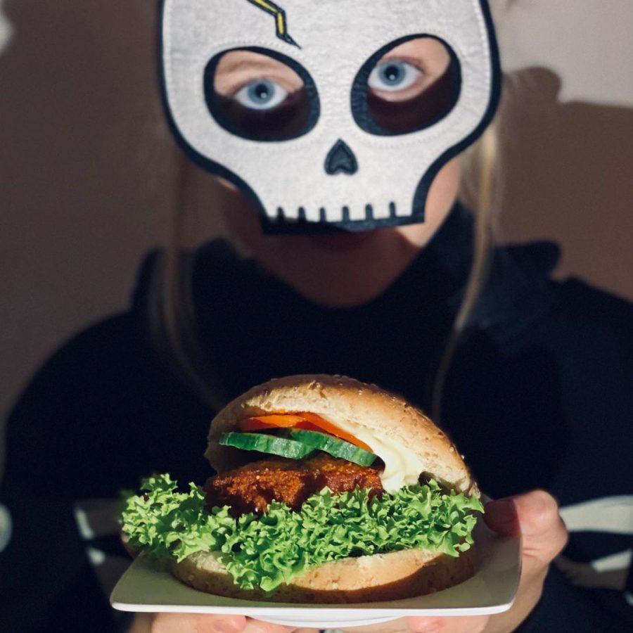 For one week only: de Halloween burger!