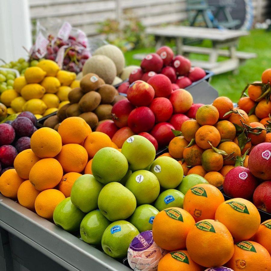 Vers, gezond en lekker fruit !